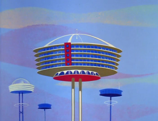 mid 21st century modern that jetsons architecture