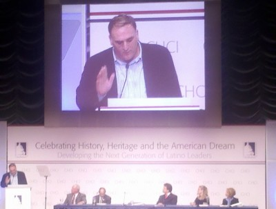 Chef Jose Andres spoke at a CHCI panel about child health and nutrition in Washington, D.C. on Monday.