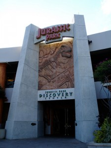 The Jurassic Park Discovery Center in Orlando, Florida. From Flickr user daryl_mitchell.