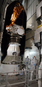 Kepler packed up for launch last week.