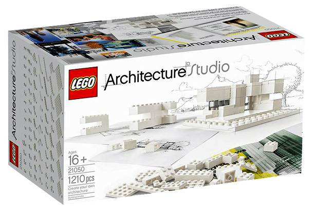 lego architecture studio brings modernism to the play room. Black Bedroom Furniture Sets. Home Design Ideas