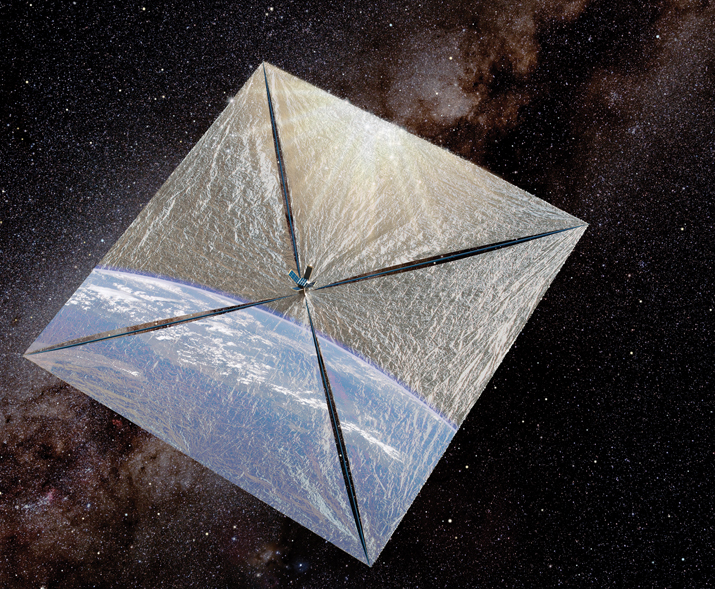 LightSail 1, the way we hope it will look next year. (Planetary Society)