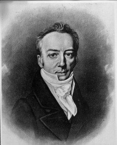 James Smithson, founding father of the Smithsonian Institution. Photo courtesy of the Smithsonian Institution archives.