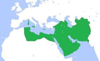 Caliphate map