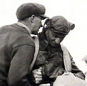 "Maughan (right) was dubbed ""The Lone Sun Racer."""