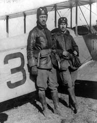 Lts. Edgar Gorrell and Herbert Dargue of the 1st Aero Squadron