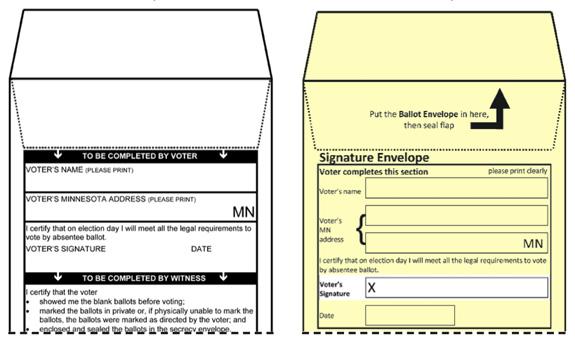 minnesota ballot