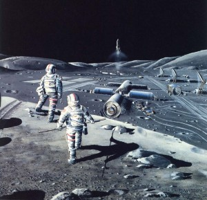 The Moon is the key resource needed to open up the frontier of space