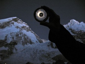 A Moon rock on Mt. Everest: Not for keeps