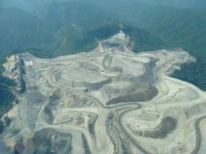 The results of mountaintop mining in West Virginia (courtesy of flickr user nrdc_media)