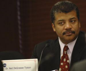 Neil deGrasse Tyson at a NASA Advisory Council meeting, Washington, D.C., 2005.