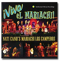 Nati Cano's Mariachi Los Comperos runs in the Traditional Mexican category.