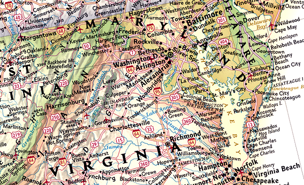 The Secret to National Geographics Maps Is an 80YearOld Font – National Geographic Travel Map