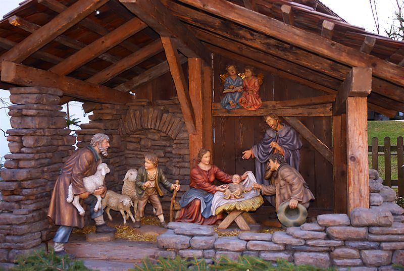 Christmas Stable Background.The First Nativity Scene Was Created In 1223 Smart News