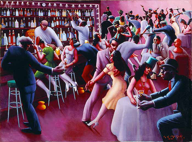 Nightlife by Archibald Motley