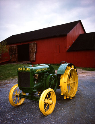 Deere & Company donated a John Deere Model D Tractor to the National Museum