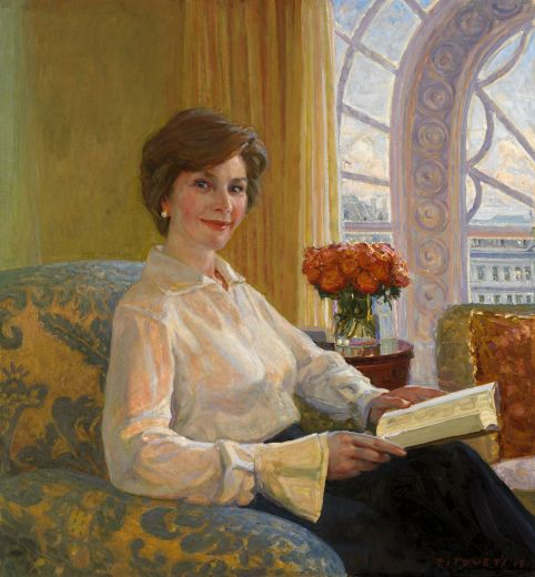 National Portrait Gallery, Smithsonian Institution; Gift of friends of President & Mrs. Bush