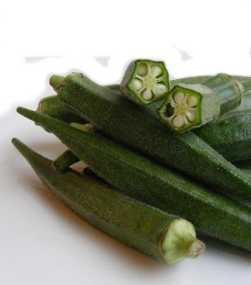 Okra, courtesy Flickr user FootosVanRobin