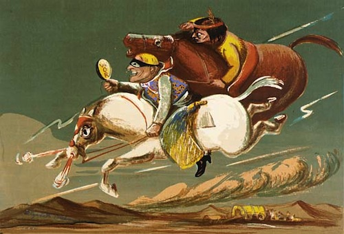 The Lone Ranger (1942) by Elizabeth Olds. Image courtesy of the American Art Museum.