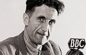 George Orwell wrote propaganda for the BBC starting DATETK. Photograph from canyoncountryzephyr.com.