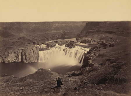 Shoshone Falls, Idaho, 1868, by Timothy H. O'Sullivan. Courtesy of the Library of Congress, Prints and Photographs Division.