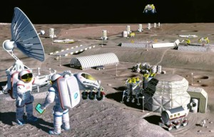 Outpost on the Moon: Too expensive?