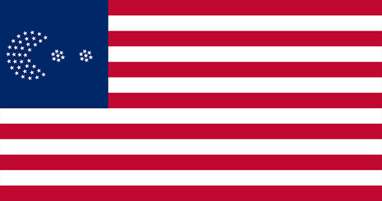 who designed the american flag with 50 stars