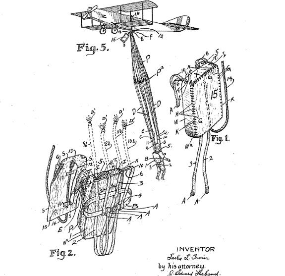 irvin parachute patent