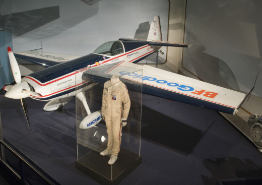 Patty Wagstaff flew this plane when she became the first woman to win the U.S. National Aerobatic Championship in 1991. She won again 1992. Image courtesy of the National Air and Space Museum.