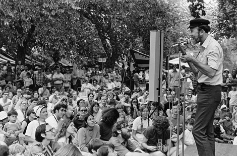 Pete Seeger turns 90 on May 3. (Image courtesy of Smithsonian Folkways.)