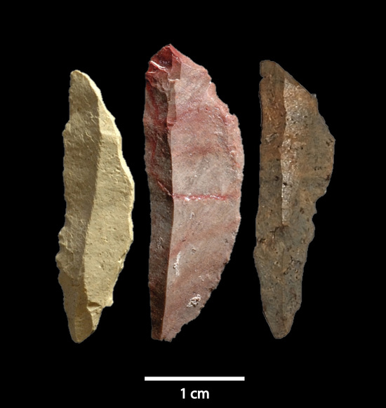 Smithsonian image - ancient arrow heads