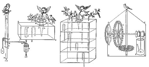robot birds