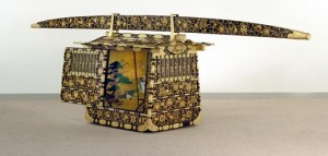 Princess Atsuhime's palanquin at the Sackler Gallery of Art