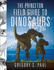 Cover of the Princeton Field Guide to Dinosaurs