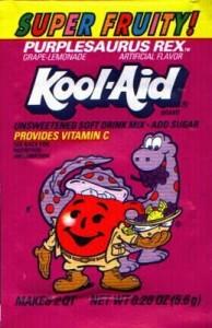 Purplesaurus Rex Kool-Aid
