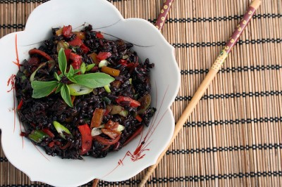 Thai Forbidden Black Rice, Courtesy Flickr user Dayna McIsaac
