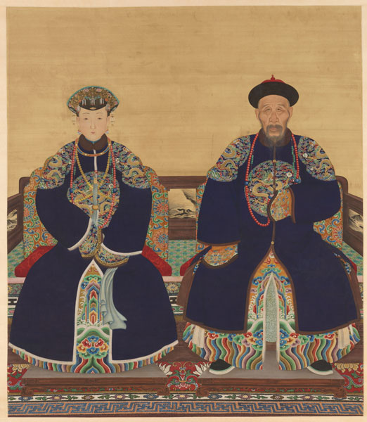 Qing court
