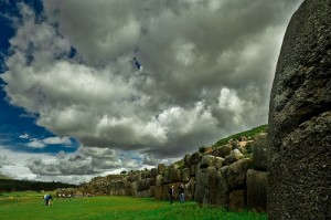 The Incan walled complex of Sacsayhuamán near Cusco, Peru (courtesy of flickr user Altamar)