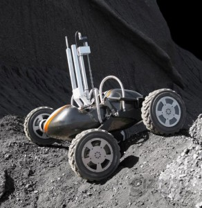 Carnigie-Mellon's Scarab rover could prospect the Moon for resources