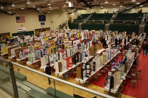 A Kentucky science fair (courtesy of flickr user DrBacchus)