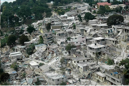 A neighborhood in Port-au-Prince (Red Cross/ECHO)
