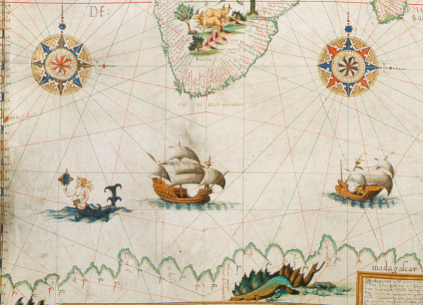 The Enchanting Sea Monsters on Medieval Maps | Science | Smithsonian