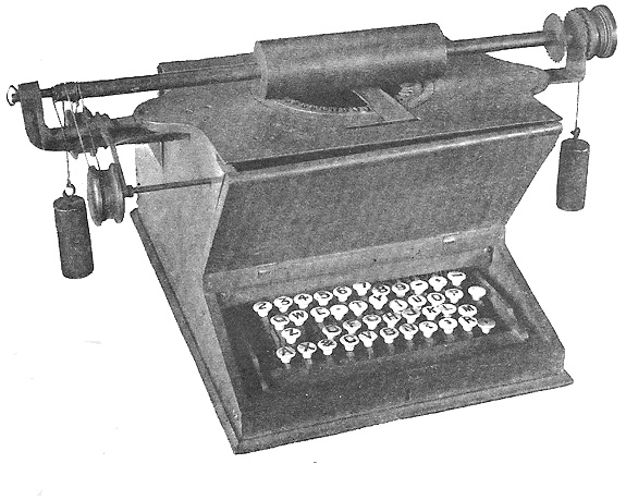 typewriter qwerty