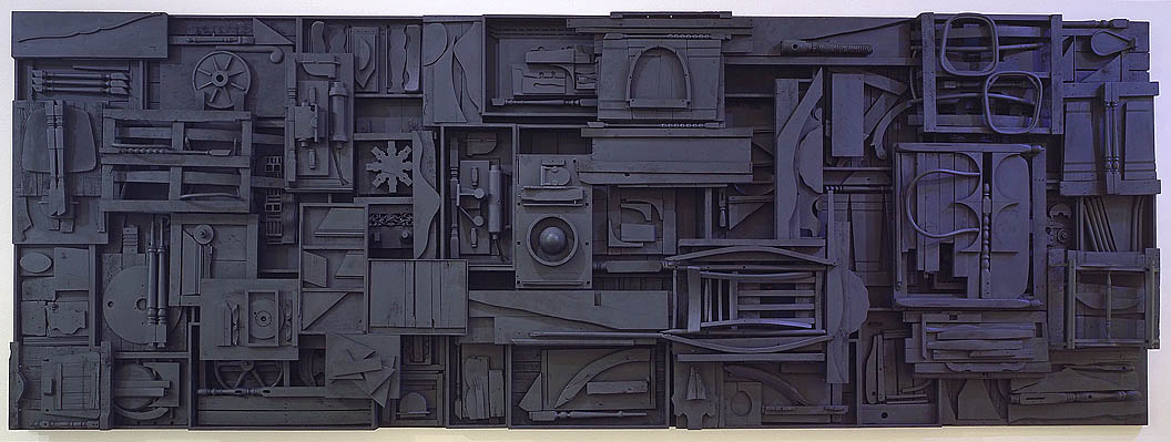 Louise Nevelson's Sky Cathedral
