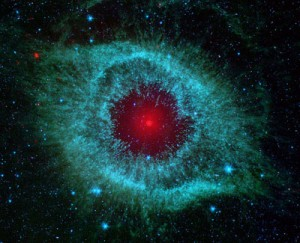 Spitzer's view of the Helix nebula
