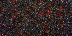 Colorful Stars Galore Inside Globular Star Cluster Omega Centauri