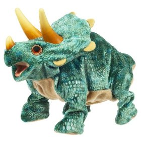 """Stompers"" the Triceratops was one of the toys listed as potentially dangerous to children."