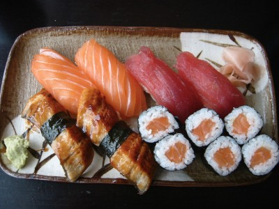 Sushi, courtesy of Flickr user adactio.