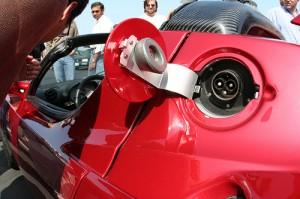 The Tesla Roadster's TK (courtesy of flickr user TheNickster)