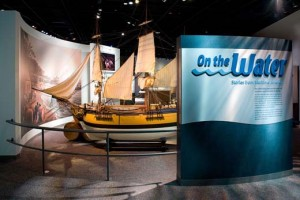 The entrance to American History's new exhibit On The Water, courtesy of the museum.
